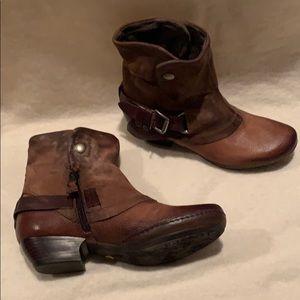 Miz Mooz Verona Collection Ankle Boots - Evelyn